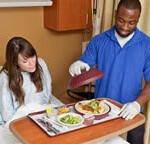 Patient menu room service