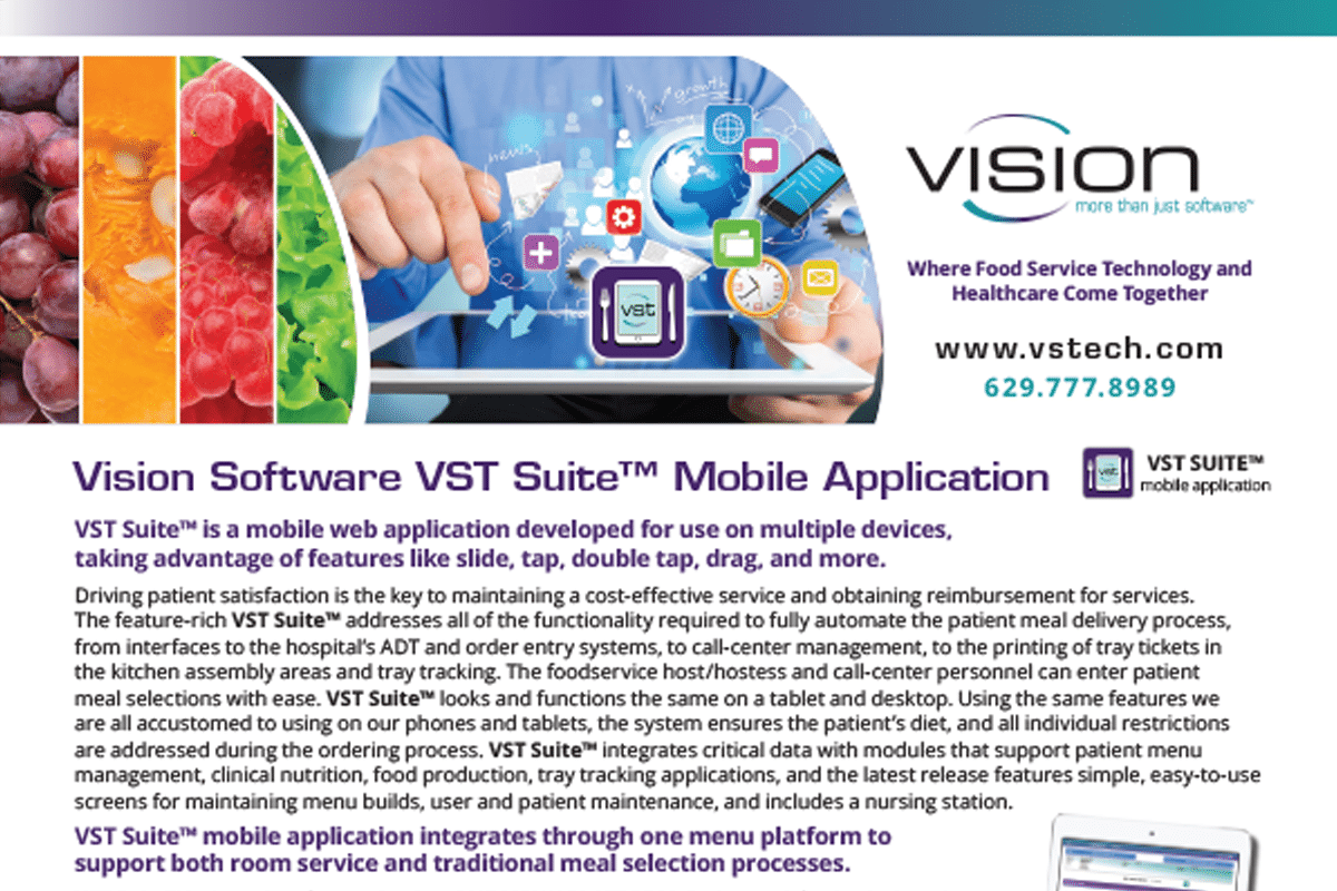 Vision Software Drives Patient Satisfaction with VST Suite™ Mobile Apps