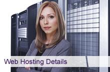 Web Hosting Details